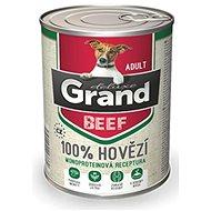 Grand deluxe 100% hovězí Adult 400 g - Konzerva pro psy