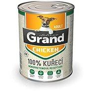 Grand deluxe 100% kuřecí Adult 820 g - Konzerva pro psy