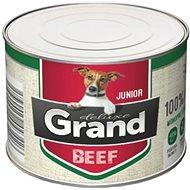Grand deluxe 100% hovězí Junior 180 g - Konzerva pro psy