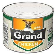 Grand deluxe 100% kuřecí Junior 180 g - Konzerva pro psy