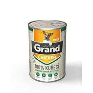Grand deluxe 100% kuřecí Junior 400 g - Konzerva pro psy