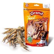 Grand Drůbeží nožička sušená 100 g - Pamlsky pro psy