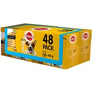Pedigree Vital Protection Meat Selection with Vegetables in Gravy 48 x 100g - Dog Food Pouch