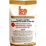 K-9 SELECTION LITE / SENIOR FORMULA - pro kontrolu hmotnosti psa 12 kg - Granule pro psy