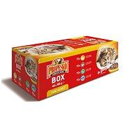 Propesko mix masa a ryby 48 × 100 g - Kapsička pro kočky