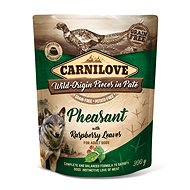 Kapsička pro psy Carnilove Dog Pouch Paté Pheasant with Raspberry Leaves 300 g