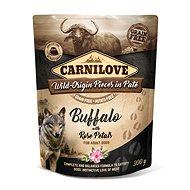 Kapsička pro psy Carnilove Dog Pouch Paté Buffalo with Rose Petals 300 g - Kapsička pro psy