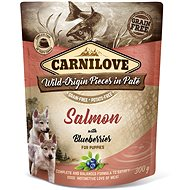 Kapsička pro psy Carnilove Dog Pouch Paté Salmon with Blueberries for Puppies 300 g