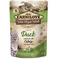 Carnilove Cat Pouch Rich in Duck Enriched with Catnip 85 g - Kapsička pro kočky