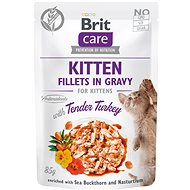 Brit Care Cat Kitten Fillets in Gravy with Tender Turkey 85 g