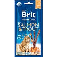 Pamlsky pro kočky Brit Premium by Nature Cat Sticks with Salmon & Trout 3 ks - Pamlsky pro kočky