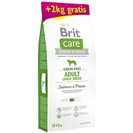 Brit Care Grain-free Adult Large Breed Salmon & Potato 12 + 2 kg