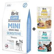 Brit Care Mini Grain Free Sensitive 2 kg + 2x kapsička 85 g zdarma