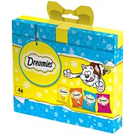 Dreamies Christmas Package with Treats for Cats 120g - Gift Pack for Cats