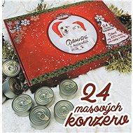 Falco Adventní kalendář pro psy a kočky 24 x 120 g - Adventní kalendář pro psy