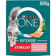 Granule pro kočky Purina ONE Bifensis Sterilcat s lososem a pšenicí 800 g - Granule pro kočky