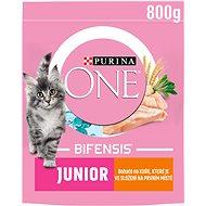 Granule pro koťata Purina ONE Bifensis Junior s kuřecím a celozrnnými obilovinami 800 g - Granule pro koťata