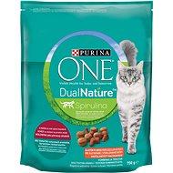 Purina ONE Dual Nature Sterilized Spirulina s hovězím 750g - Granule pro kočky