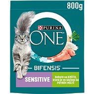 Purina ONE Bifensis Sensitive s krůtím a rýží 800 g - Granule pro kočky