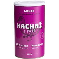 Louie Kompletní krmivo - kachní (95%) s rýží (5%) 1200g - Konzerva pro psy