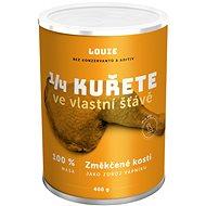 Louie 1/4 kuřete 100% maso 400g - Konzerva pro psy