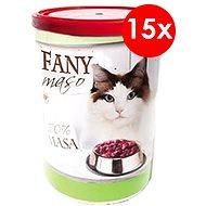 Fany maso 400 g, 15 ks - Konzerva pro kočky