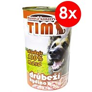 TIM Poultry 1200g, 8 pcs - Canned Dog Food