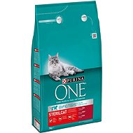 Granule pro kočky Purina ONE sterilcat s hovězím 3kg - Granule pro kočky