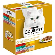 Gourmet gold Multipack Double Pleasure 8 × 85 g - Konzerva pro kočky