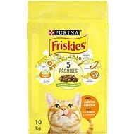 Friskies s kuřetem a se zeleninou 10kg - Granule pro kočky