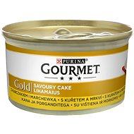 Gourmet gold Savoury Cake s kuřetem a mrkví 85g - Konzerva pro kočky