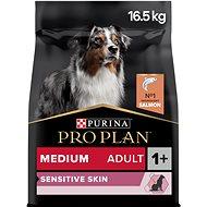 Pro Plan medium adult optiderma s lososem 14 kg + 2,5 kg - Granule pro psy
