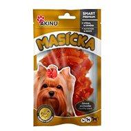 Akinu Kuřecí proužky pro psy 75g - Sušené maso pro psy