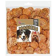 Akinu Kuřecí chipsy pro psy 300g - Sušené maso pro psy