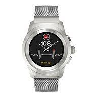 MyKronoz ZeTime Elite Brushed Silver Milan - 44 mm - Chytré hodinky