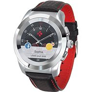 MyKronoz ZeTime Premium Silver/Black - 39 mm - Chytré hodinky