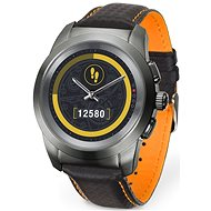 MyKronoz ZeTime Premium Titanium/Black - 39 mm - Chytré hodinky