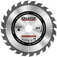 Kreator KRT020420, 210mm - Pilový kotouč na dřevo