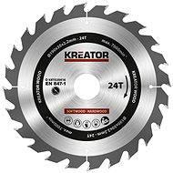 Kreator KRT020416, 190mm - Pilový kotouč na dřevo