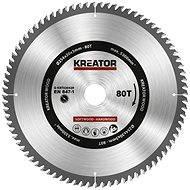 Kreator KRT020429, 254mm - Pilový kotouč na dřevo