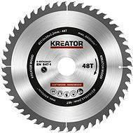 Kreator KRT020421, 210mm - Pilový kotouč na dřevo