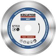 Kreator KRT081104, 200mm - Diamantový kotouč