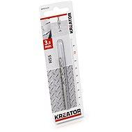 Kreator Metal Drill Bit 3.5mm HSS - Drill Bit