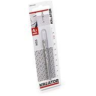 Kreator Metal Drill Bit 4.2mm HSS - Drill Bit