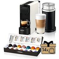 Nespresso Krups XN511110 Essenza Plus White & Aeroccino - Kávovar na kapsle