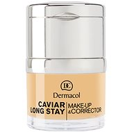 DERMACOL Caviar Long Stay Make-Up & Corrector Fair 30 ml - Make-up