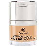 DERMACOL Caviar Long Stay Make-Up & Corrector Nude 30ml - Make-up