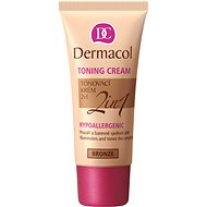 DERMACOL Toning Cream 2in1 Bronze 30 ml - BB krém