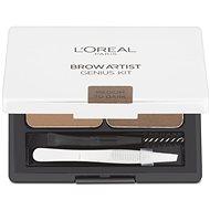 ĽORÉAL PARIS Brow Genius Kit Medium/Dark 3,5 g - Kosmetická paletka