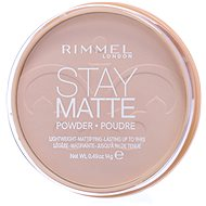 RIMMEL LONDON Stay Matte 14 g - Odstín: 001 Transparent  - Pudr